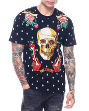 Shirts - FIRE AND ROSES TEE-2324779