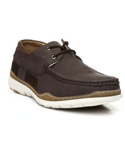 Footwear - Perforated Boat Shoes-2323691