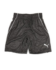 Boys - Heather Printed Performance Shorts (4-7)-2322197