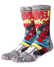 DRJ SOCK SHOP - Spiderman Comic Socks-2324245