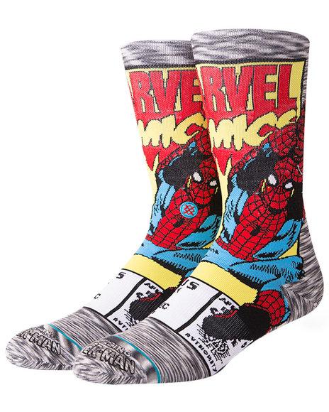 Stance Socks - Spiderman Comic Socks
