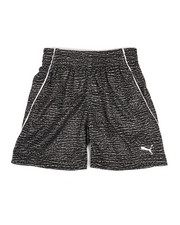 Boys - Heather Printed Performance Shorts (2T-4T)-2322349