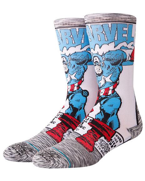 Stance Socks - Captain America Comic Socks