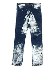 Arcade Styles - Crinkle Moto Jeans (8-20)-2322353