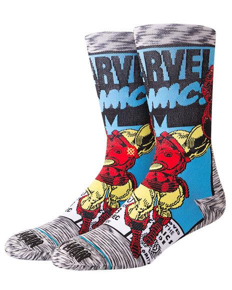 Stance Socks - Iron Man Comic Socks