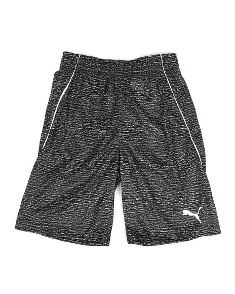 Puma - Heather Printed Performance Shorts (8-20)