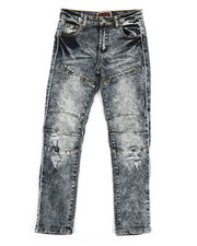 Bottoms - Distressed Denim Jeans (8-20)-2323993