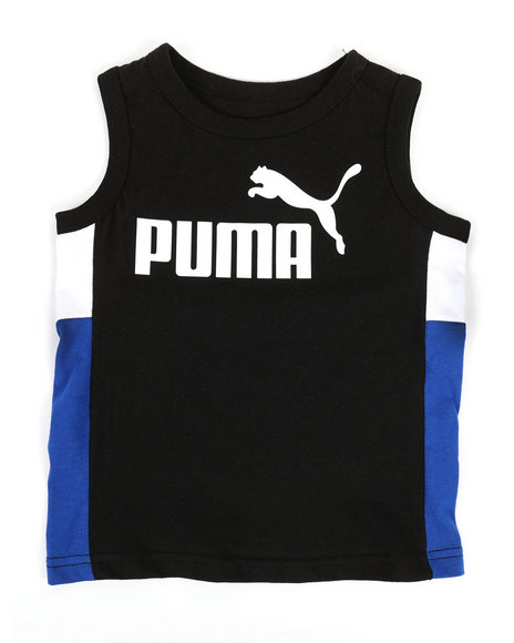 Puma - Color Block Muscle Tank Top (4-7)