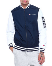Outerwear - MULTI C PATCH BASEBALL JACKET-2324564