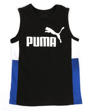 Boys - Color Block Muscle Tank Top (8-20)-2322360