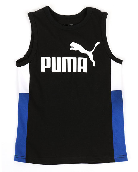 Puma - Color Block Muscle Tank Top (8-20)