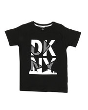 Boys - DKNY Stack Logo Art Tee (8-20)-2324146