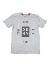 Boys - DKNY Box Logo Tee (8-20)-2324122