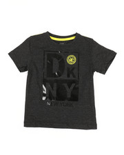 Boys - Front Square DKNY Tee (2T-4T)-2324132
