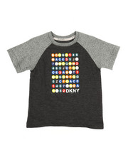 Boys - Color Block Raglan Subway Train Tee (2T-4T)-2324085