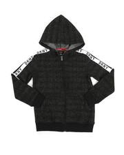 DKNY Jeans - Zip Grindle Hoodie W/ Logo Taping (8-20)-2324075
