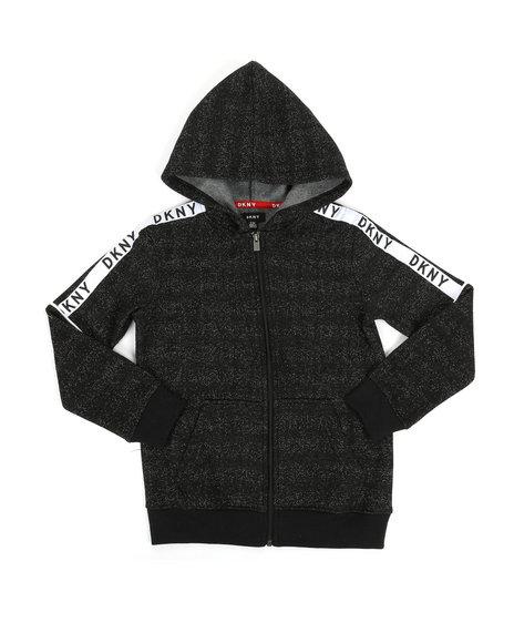DKNY Jeans - Zip Grindle Hoodie W/ Logo Taping (8-20)