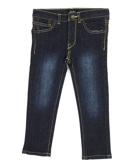 DKNY Jeans - Mott Straight Fit Stretch Jeans (2T-4T)