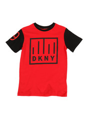 Boys - Color Block Logo Tee (8-20)-2324136