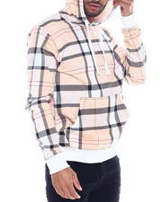 Buyers Picks - British plaid hoodie-2325246