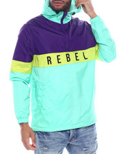 Outerwear - Rebel Colorblock Windbreaker-2325154