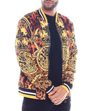 Buyers Picks - CHEETAH PRINT BAROQUE WARM UP JACKET-2325513