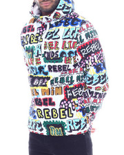 Outerwear - Rebel Ink Marker Windbreaker-2325369