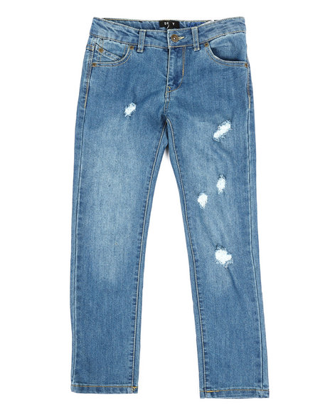 DKNY Jeans - Mott Rip & Repair Straight Jeans (8-20)