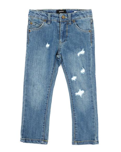 DKNY Jeans - Mott Rip & Repair Straight Jeans (4-7)