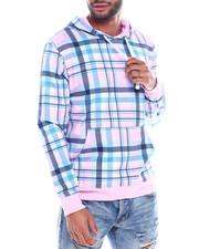 Buyers Picks - Pink plaid hoodie-2325300