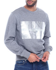 Calvin Klein - INSTITUTIONAL SILVER BOX SWEATSHIRT-2323841