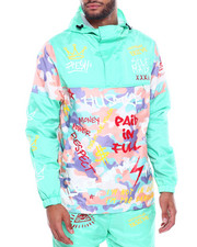 Outerwear - Graffiti Windbreaker-2325293