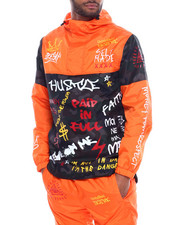 Outerwear - Graffiti Windbreaker-2325266