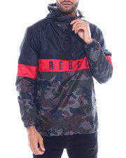 Outerwear - Rebel Colorblock Windbreaker-2325214