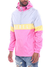 Outerwear - Rebel Colorblock Windbreaker-2325227