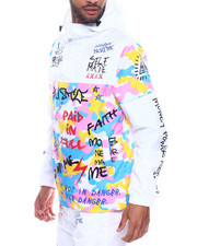 Outerwear - Graffiti Windbreaker-2326122