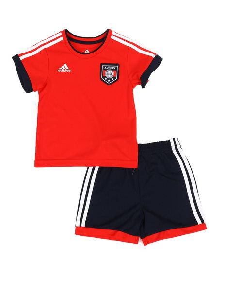 Adidas - 2 Piece Soccer Shorts & Top Set (12M-24M)