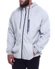 Hoodies - Oversized Full Zip Tech Fleece Hoodie (B&T)-2324984