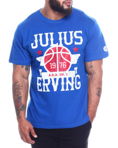 Julius Erving (DR. J) - Dr. J Cotton T-Shirt Screen Printing (B&T)