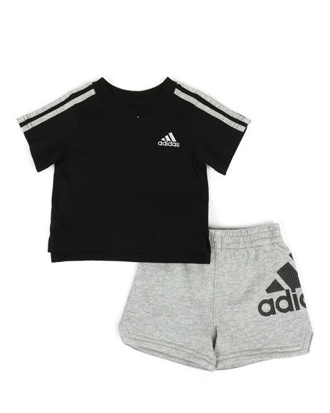 Adidas - 2 Piece Sport Shorts & Top Set (3M-24M)
