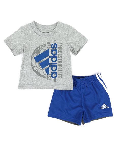 Adidas - 2 Piece Tee & Shorts Set (3M-24M)