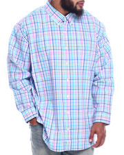 Izod - L/S Button Down Roadmap (B&T)-2325008