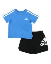 Adidas - 2 Piece Sport Shorts & Top Set (3M-24M)-2324004