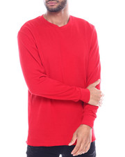 Thermals - Solid L/S Crewneck Thermal Top-2130028