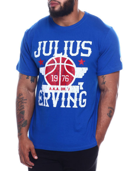 Julius Erving (DR. J) - Cotton T-Shirt Screen Printing (B&T)