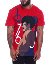 Julius Erving (DR. J) - Dr. J Cotton T-Shirt Screen Printing (B&T)-2323556