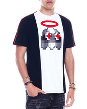 T-Shirts - HALO TEE W/CHENILLE PATCH-2326209
