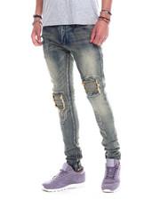 Men - Distressed Jean - vintage wash-2324865