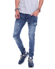 Stylist Picks - Distressed Jean - Medium wash-2324848