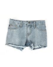Bottoms - Snowflake Crystal Shorts (4-6X)-2325278